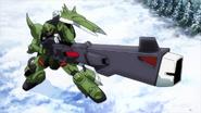 Gunner ZAKU Warrior 01