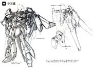 Lightning Gundam rough sketch