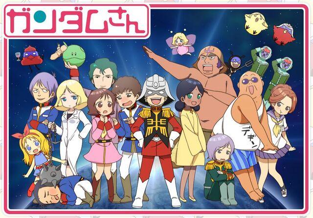 File:Mobile Suit Gundam-san Anime.JPG