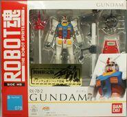 RobotDamashii Rx-78-2 Limited TwinWeaponPack p01