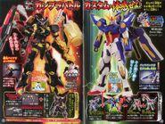 Bucchigiri Astray Built Wyvern T Gundam