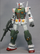Semi Armored Gundam