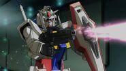0 Gundam in Combat