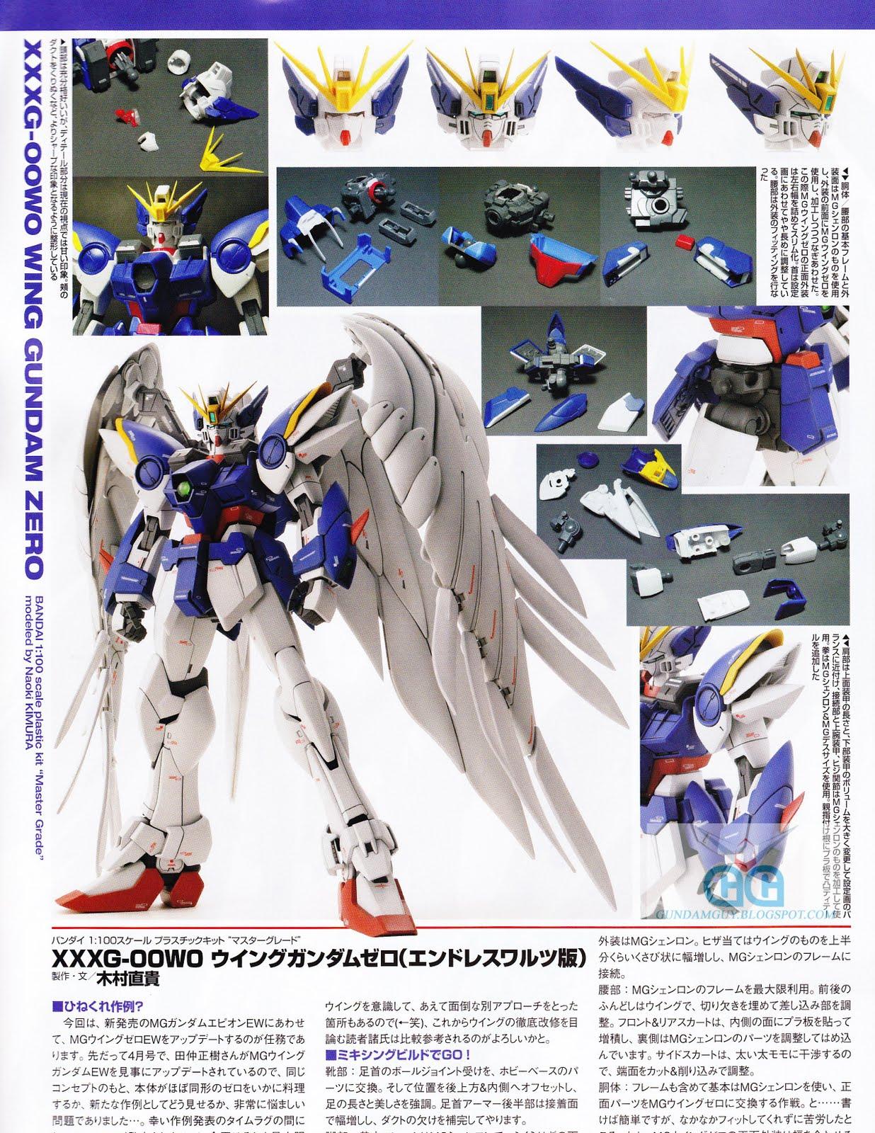 Image result for MG Wing zero custom