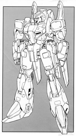 File:MSZ-006A1 - Zeta Plus A1 - Front View Lineart.jpg