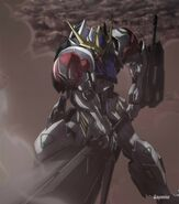 ASW-G-08 - Gundam Barbatos Lupus