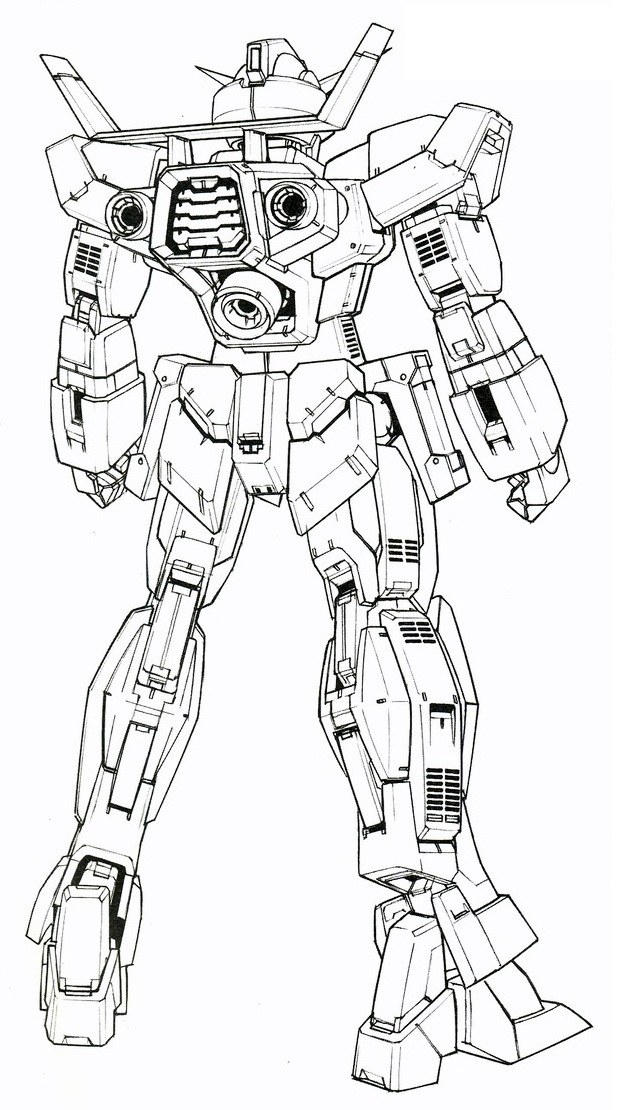 Zaku Lineart : Image gundam age normal rear view mg lineart g