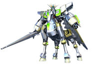 Extreme Gundam Mystic Phase - Front View