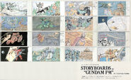 StoryBoards of Gundam F91
