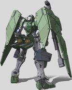 GN-002 Gundam Dynames Rear