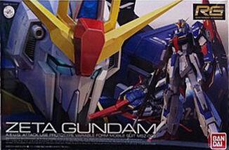 RG Zeta Gundam Box art