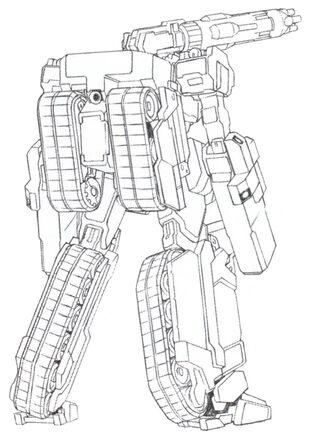 Rear (Mega Machine Cannon Type)