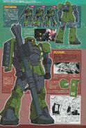 MS-05 Zaku I (Slender Custom)