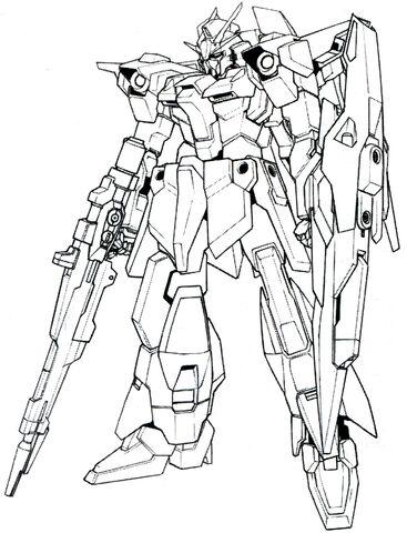 File:Lightning Gundam BWS BW front lineart.jpg