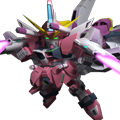 Unit sr infinite justice gundam meteor
