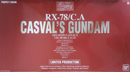 Gunpla PG CasvalsGundam 002 2017Asia box