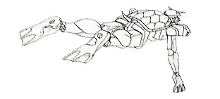 File:Turtle Gundam - Cameo Lineart.png