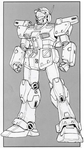 File:RGM-79N GM Custom - Front View Lineart.jpg
