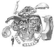 Gouf Custom - Body Unit