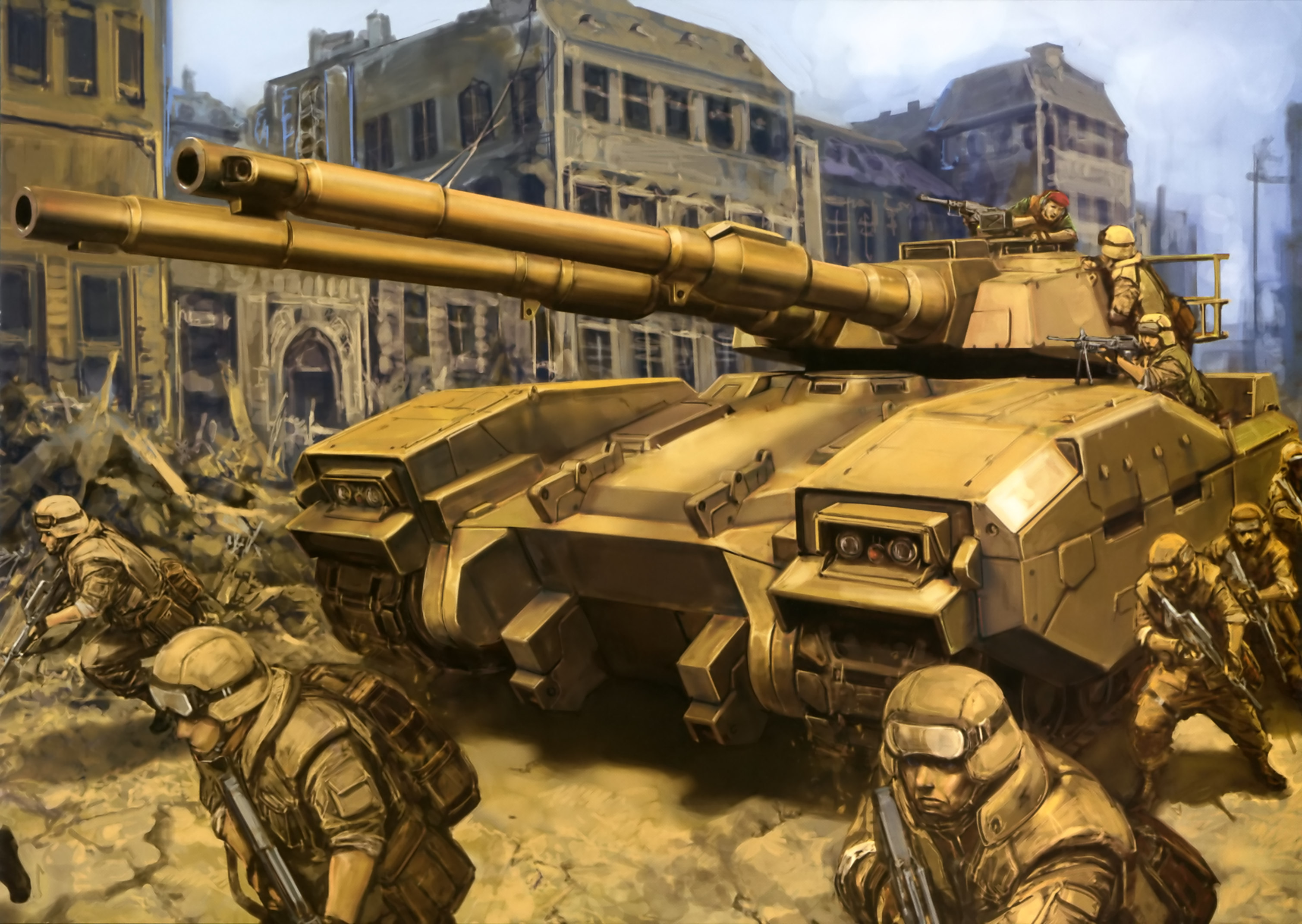 M61A5 Main Battle Tanks VS Baneblade Super Heavy Tanks