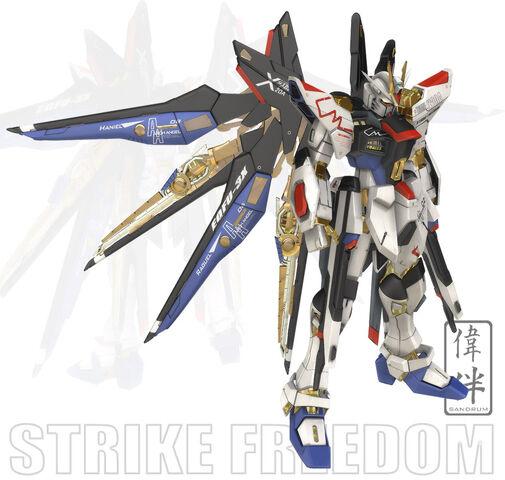 File:Strike Freedom Modificata by sandrum.jpg