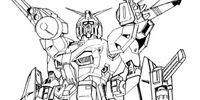 F90E Gundam F90 Reconnaissance Type