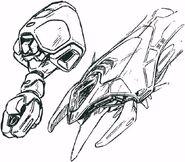 ABFS-RR-01S Messala Dinofaust Jupiter Manipulator Arms