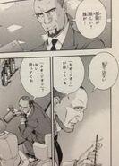 Horst Harness in manga MSV-R