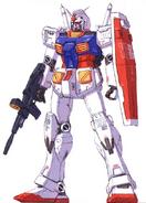 RX-78 GFF front