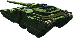 Rear (Tank mode)