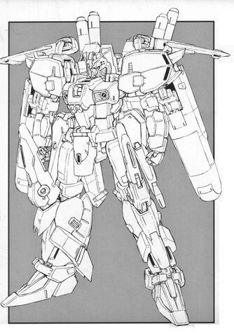 File:MSA-0011(Ext) - Ex-S Gundam - Front View Lineart.jpg