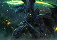 Gundam Deathscythe Hell (EW Version) vs Serpents