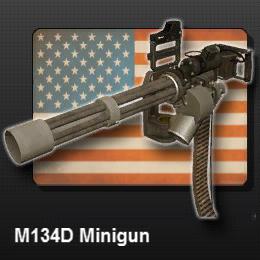 M134D Minigun