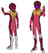 Lantern Normal Suit
