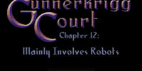 Chapter 12: Mainly Involves Robots