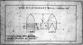 Minie ball Patent