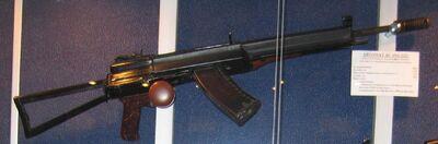 AO-222rifleincabinet