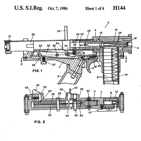 Patent of an FCG using a striker.
