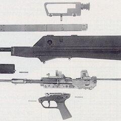 Parts of prototype #2
