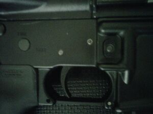 AR-15 magazine release