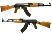 AK-47 both sides