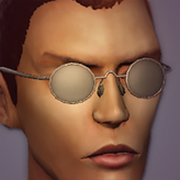 MaleShaded Spectacles