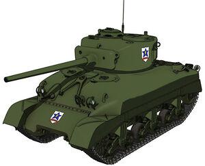 M4 Sherman 76mm