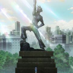 Kamina Statue