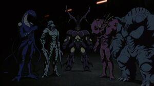 Hyper-Zoanoid Team Five