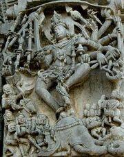 Hoysala carving