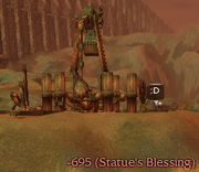 Statue's Blessing