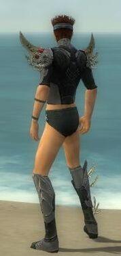 Assassin Elite Imperial Armor M gray chest feet back