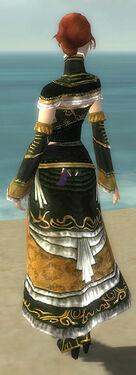 Mesmer Elite Sunspear Armor F gray chest feet back