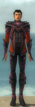 Elementalist Elite Stormforged Armor M dyed front